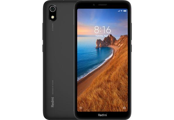 """Смартфон Xiaomi Redmi 7A с мощным аккумулятором и быстрой зарядкой с распознованием лица 5,45"""" 2/16Gb черный"""