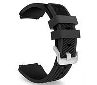 Силиконовый ремешок для часов Huawei Watch GT / GT Active 46mm - Black, фото 1