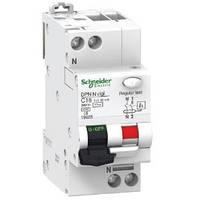Дифференциальный авт. выключатель Acti9 DPN N Vigi 2Р, 6А, 30мА Schneider Electric