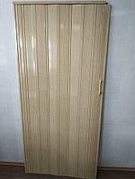 Дверь складная гармошка 269 дуб светлый 880*2030*10 мм элит