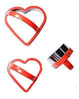 Вырубка для кондитерских изделий сердце 3000025