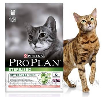Корм Про План Стерилизед (Pro Plan Sterilised) для стерилизованных кошек и кастрированных котов, индейка,10 кг