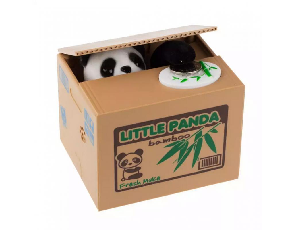 Скарбничка панда-злодюжка