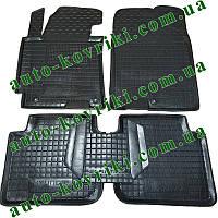 Резиновые коврики в салон Hyundai Elantra V 2011- (Avto-Gumm) Автогум