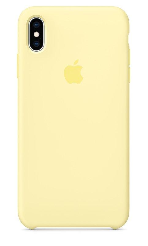Чохол Silicone Case Apple iPhone Xs Max (Mellow Yellow)