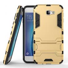 Ударопрочный чехол-подставка Transformer для Samsung G610F Galaxy J7 Prime с мощной защитой корпуса