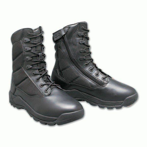 Ботинки берцы GK PRO Ground Speed Field Black черные