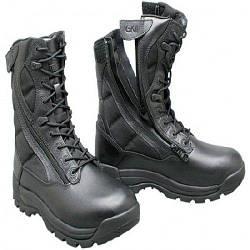 Ботинки берцы GK PRO Ground Speed Field TWIN Zip Black черные