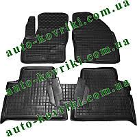 Резиновые коврики в салон Ford C-Max 2005-2010 (Avto-Gumm) Автогум