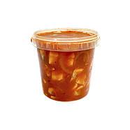 Сельдь кусочки в томатном соусе 1.1 кг ведро, фото 2