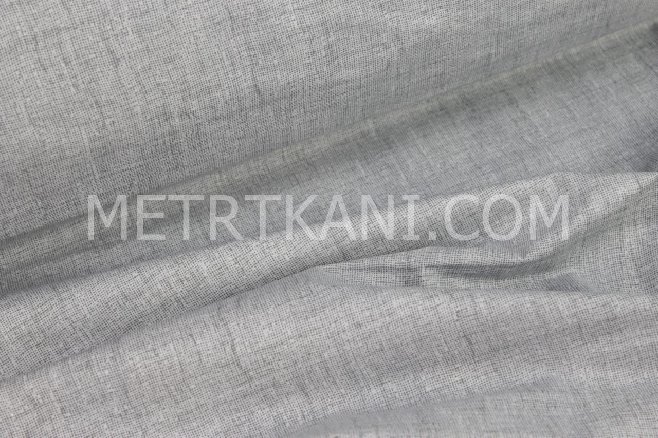 """Ткань бязь """"Плетение нитей """"серого цвета №980"""