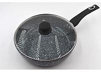 Глубокая сковорода с крышкой (26*7,5 см)