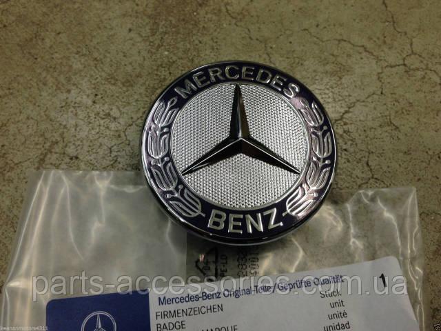 Mercedes C W204 значок эмблема на капот новая оригинал