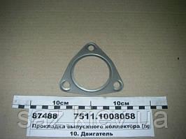 Прокладка выпускного коллектора (пр-во ЯМЗ), МАЗ