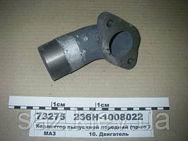 Коллектор выпускной передний (пр-во ЯМЗ), МАЗ