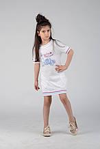 Детская туника для девочки Одежда для девочек 0-2 BRUMS Италия 131BGFN008 белый