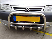 Кенгурятник (передняя защита) Peugeot Partner 2004+