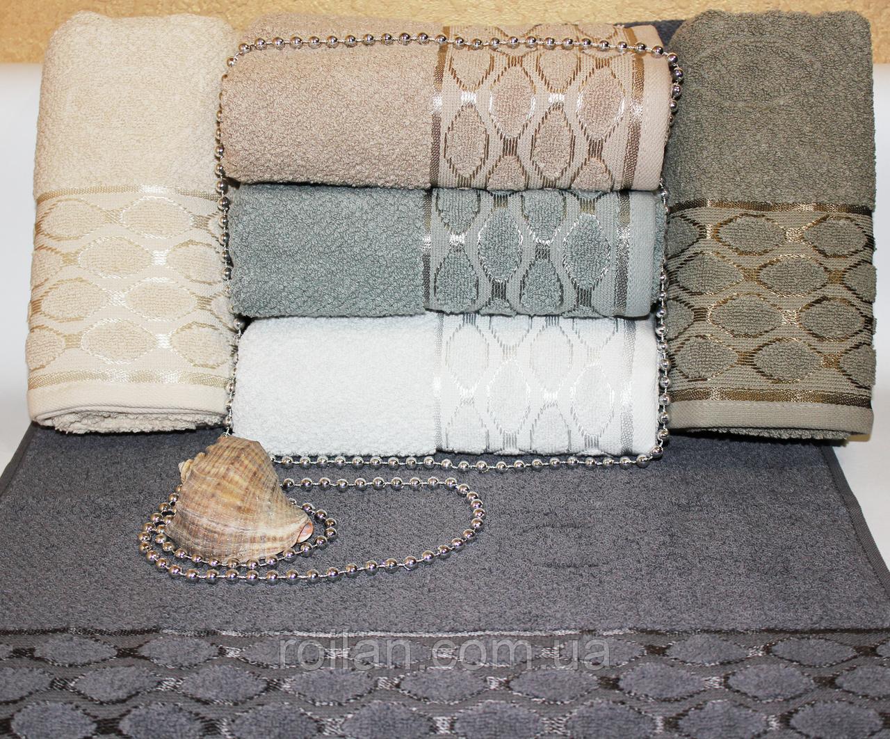 Метровые турецкие полотенца Овал