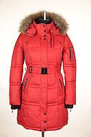 Пальто женское на синтепухе молодёжное под спорт.