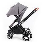 Детская коляска 2в1 Ninos Alba Melange Grey (NA2018MG), фото 4