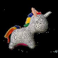 Арт-подушка игрушка антистресс раскраска, полистерольные шарики