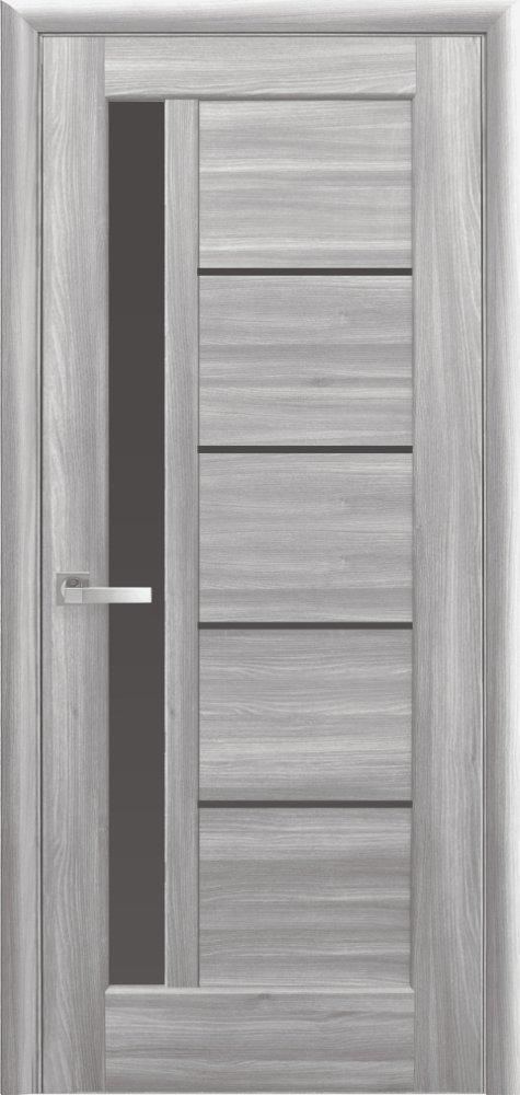 Межкомнатные двери Новый Стиль Грета с белым стеклом