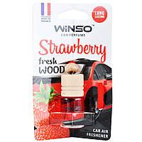Ароматизатор Fresh Wood Strawberry (Клубника) 4 ml Winso (530350)