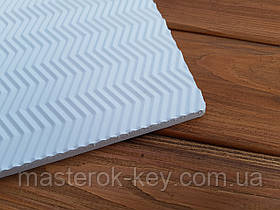 Микропористая резина 600*360*15 мм цвет белый