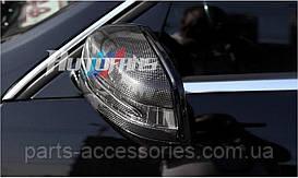 Mercedes E W212 Carbon карбоновые накладки на зеркала