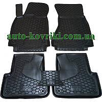 Резиновые коврики в салон Audi A6 (C7) 2014- (Avto-Gumm)