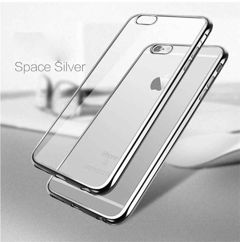Чехол силиконовый для Iphone 5/5S/5SE ультратонкий Space Grey