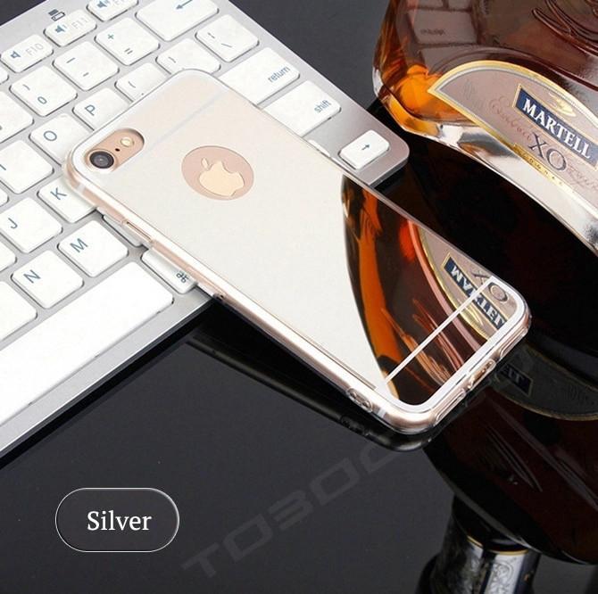 Чехол силиконовый для Iphone 5/5S/5SE ультратонкий серебристый