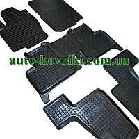 Резиновые коврики в салон Mercedes X166 GLS 2014- (7мест) (Avto-Gumm)