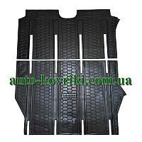 Резиновые коврики в салон Mercedes Vito - Viano 2007- LONG (с двух частей) (Avto-Gumm) Автогум