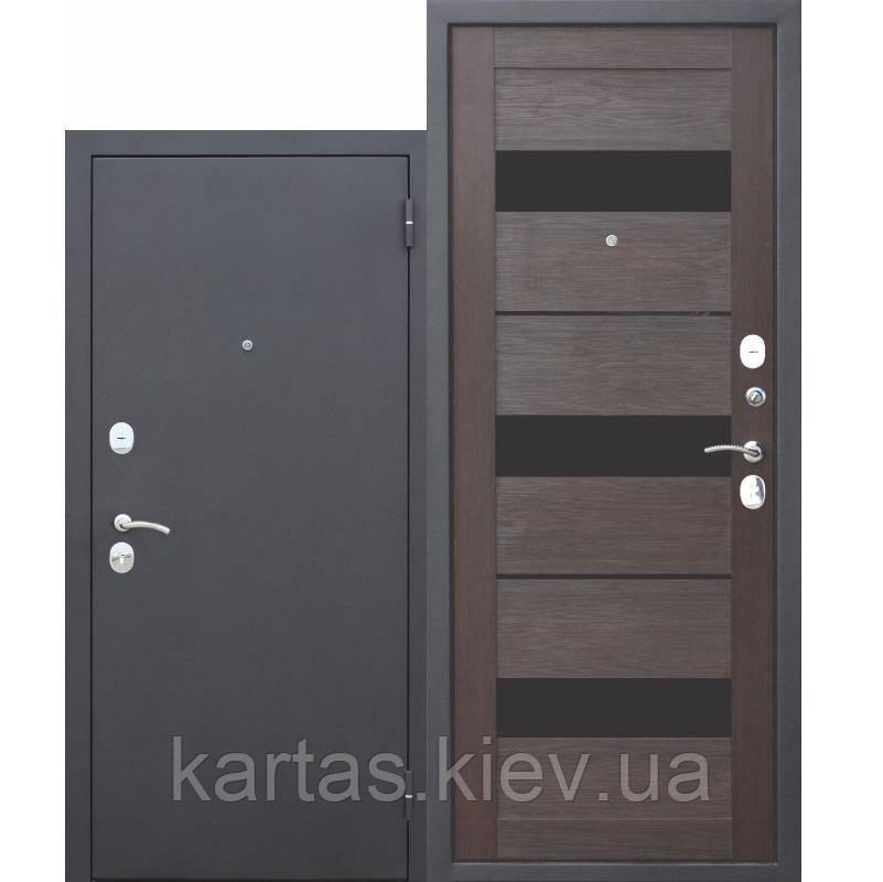 Входная дверь Гарда Муар/Темный Кипарис Царга