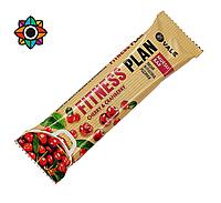 Батончи Fitness plan со вкусом вишни 30 г (без сахара)