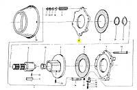 Тарілка зчеплення ліва, 6 отворів Sipma Original 5223-110-001 5223-110-001