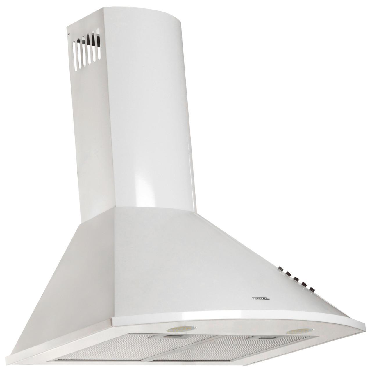 Витяжка кухонна купольна ELEYUS Bora 1200 LED SMD 60 WH + Безкоштовна доставка!