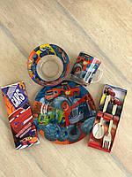 Набор Детской Посуды для кормления «Вспыш» 5 предметов!