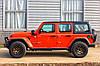 Силовой передний бампер с красными вставками Jeep Wrangler JL, фото 7