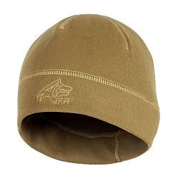 Шапка Garm Fleece Beanie FR Coyote Brown светло-коричневая