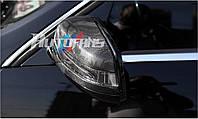 Mercedes E купе W207 Carbon карбоновые накладки на зеркала
