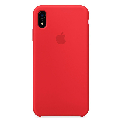Чехол Silicone Case Apple iPhone XR (Red)