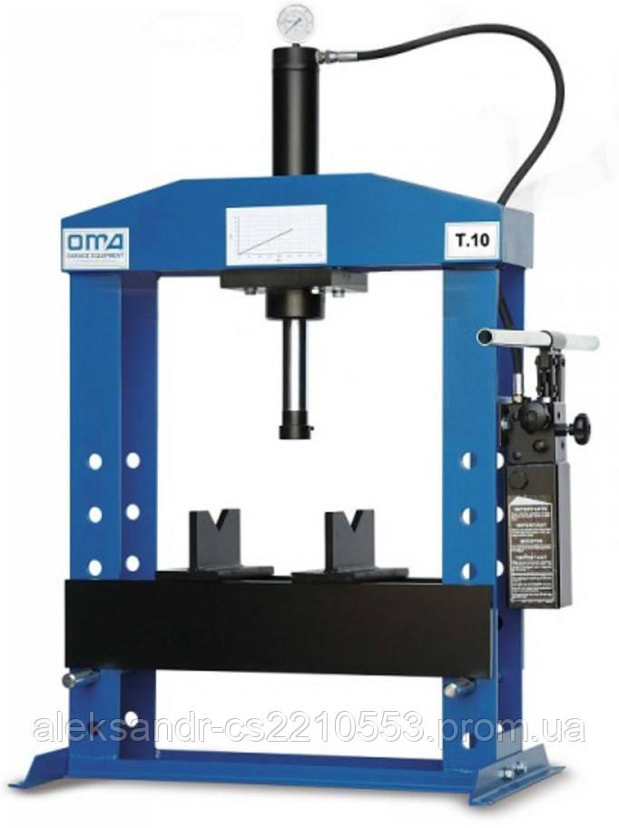 Oma 650B - Пресс гидравлический настольный 10 т