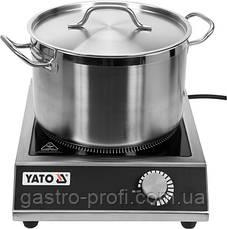 Плита индукционная 3500 Вт YatoGastro YG-04700, фото 2