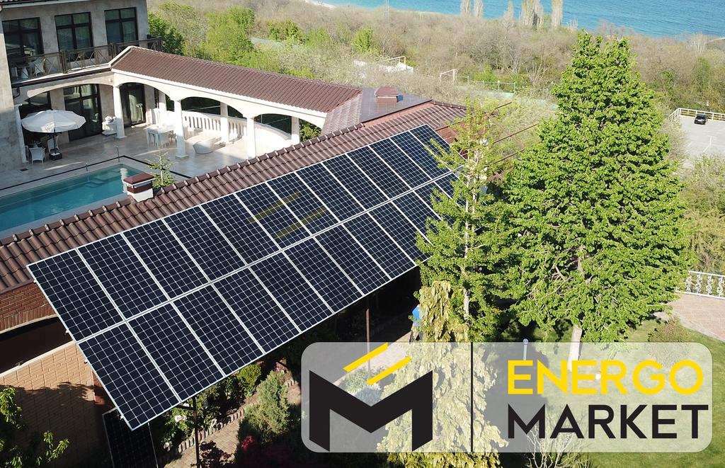 Солнечная сетевая станция 30 кВт, Одесса
