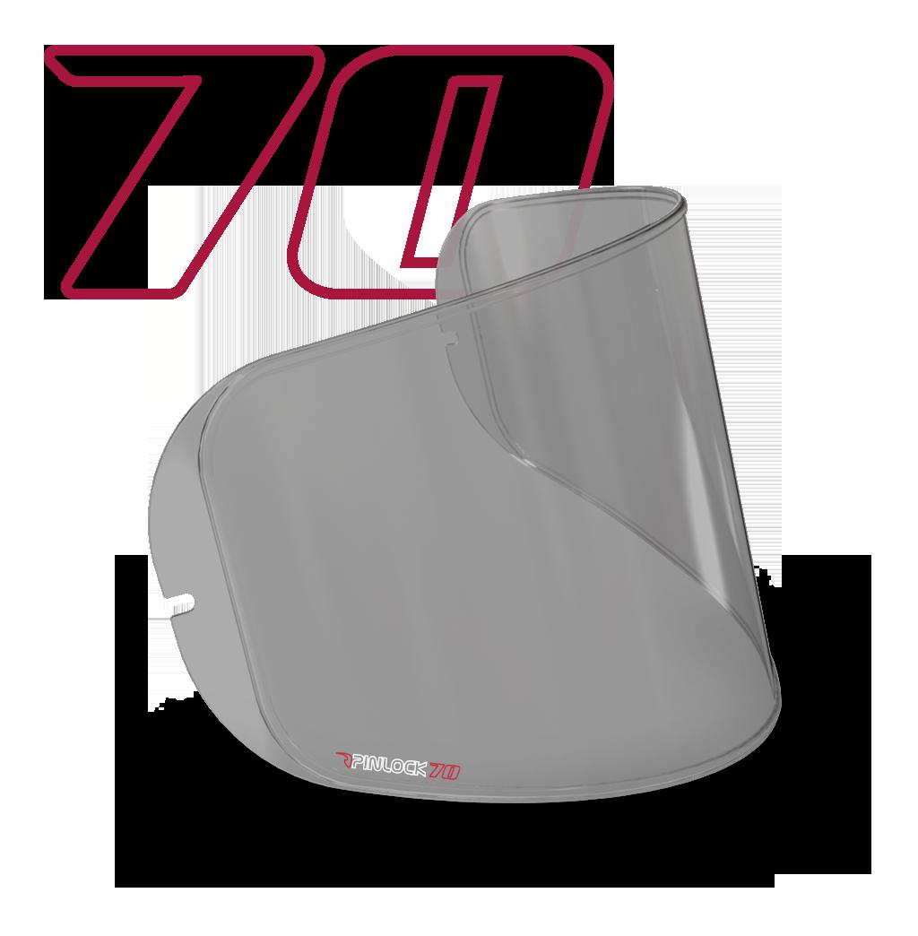 Pinlock для шолома MT Targo, Rapide, Blade 2 темний (Smoke) V-14
