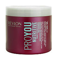 Маска для волос увлажнение и питание Revlon Professional Pro You Nutritive Mask 500 мл