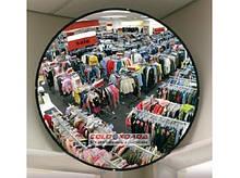 Обзорное зеркало круглое D = 300,450, 600 мм, квадратное 800х450 мм.