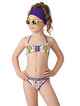 Детский купальник для девочки Arina Италия GB081302 Белый